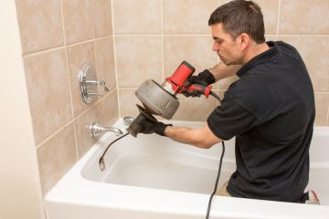 Caliber One Plumbing and Construction, Inc. Snaking a Clogged Drain in West Covina