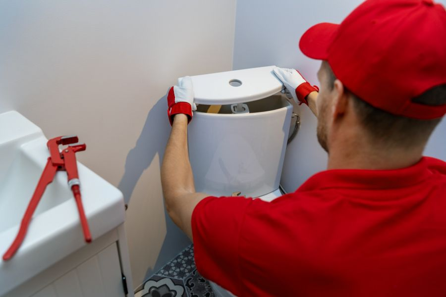 Caliber One Plumbing and Construction, Inc.'s Toilet Repair